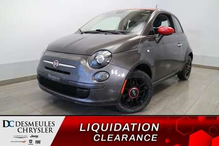 2015 Fiat 500 Pop * AIR CLIMATISE * BLUETOOTH * CRUISE * for Sale  - DC-L2114  - Blainville Chrysler