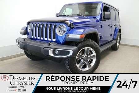 2020 Jeep Wrangler SAHARA 4X4 * UCONNECT 8.4 PO * NAVIGATION * CAM * for Sale  - DC-21802A  - Blainville Chrysler
