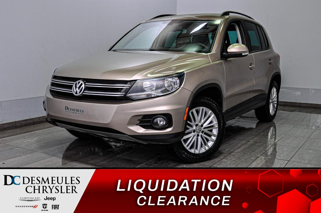 2016 Volkswagen Tiguan  - Desmeules Chrysler