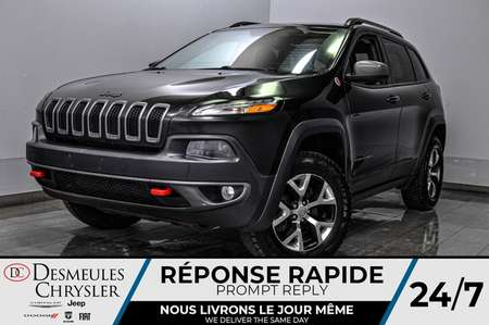 2016 Jeep Cherokee Trailhawk + a/c + bancs chauff + uconnect + cam for Sale  - DC-20158A  - Blainville Chrysler