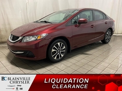 2015 Honda Civic LX * CAM RECUL * SIEGES CHAUFFANTS * BLUETOOTH *  - BC-20130A  - Blainville Chrysler