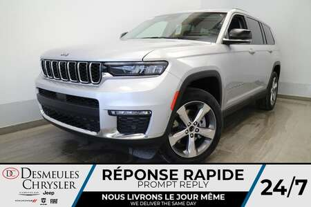 2021 Jeep Grand Cherokee L Limited 4X4 * UCONNECT 10.1 PO * NAVIGATION* CUIR for Sale  - DC-21789  - Desmeules Chrysler