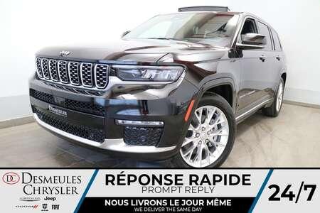 2021 Jeep Grand Cherokee L Summit 4X4 * UCONNECT 10.1 POUCES * NAVIGATION * for Sale  - DC-21786  - Desmeules Chrysler