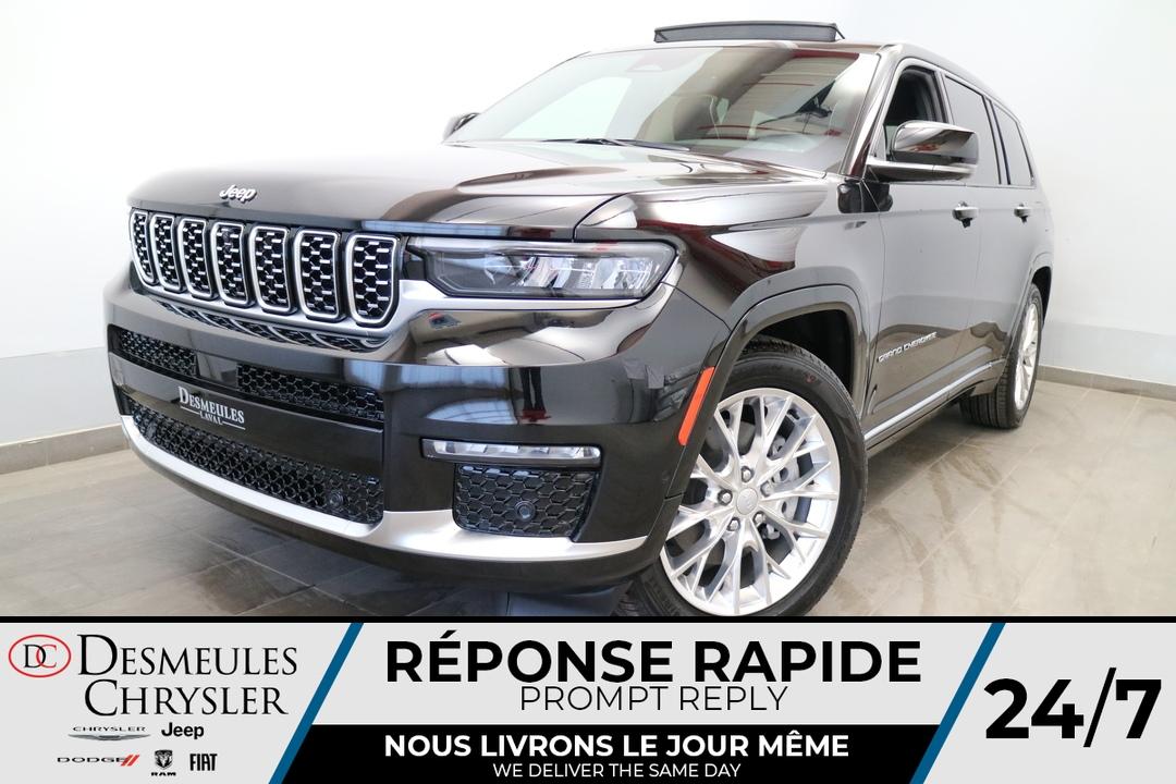 2021 Jeep Grand Cherokee L  - Desmeules Chrysler