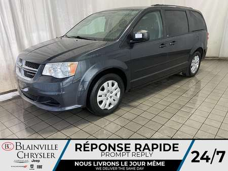 2014 Dodge Grand Caravan SXT STOW'N'GO * CRUISE * BLUETOOTH * ECO MODE * for Sale  - BC-20454A  - Desmeules Chrysler