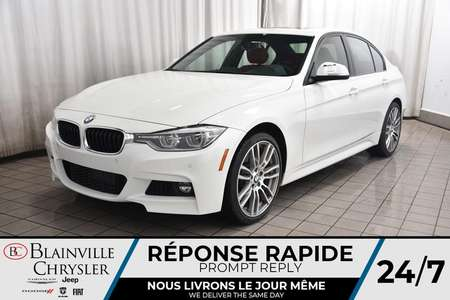 2016 BMW 3 Series 340i xDrive * M PACKAGE * NAV * CAM RECUL * for Sale  - BC-20316B  - Desmeules Chrysler