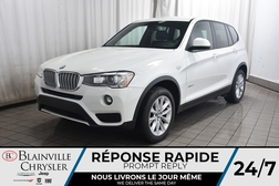 2016 BMW X3 xDrive28i * CAMERA RECUL * BLUETOOTH * CUIR  - BC-C1684  - Desmeules Chrysler