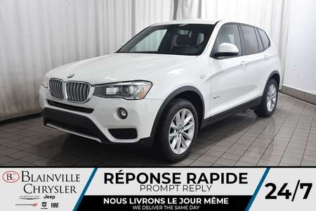 2016 BMW X3 xDrive28i * CAMERA RECUL * BLUETOOTH * CUIR for Sale  - BC-C1684  - Desmeules Chrysler
