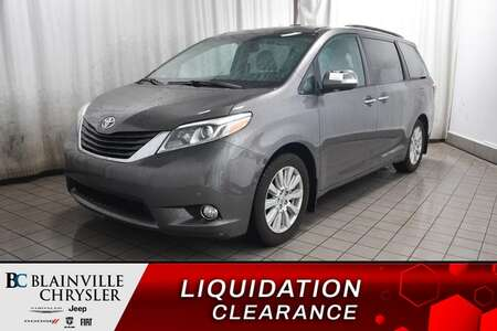 2017 Toyota Sienna Limited *  TOIT OUVRANT * CAMERA RECUL * BLUETOOTH for Sale  - BC-C1694  - Desmeules Chrysler