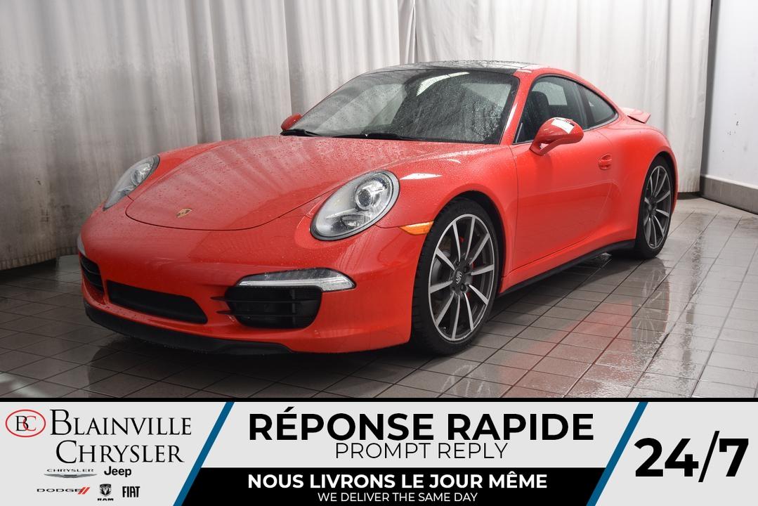 2014 Porsche 911  - Desmeules Chrysler