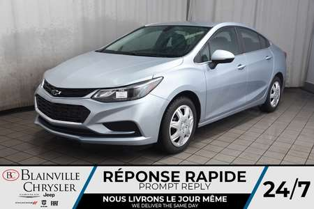 2018 Chevrolet Cruze LT Turbo * CAMERA RECUL *  SIEGES CHAUFFANTS * for Sale  - BC-P1646  - Blainville Chrysler