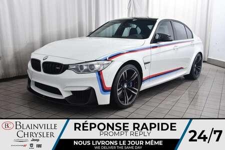 2016 BMW M3 M PERFORMANCE * CARBON FIBER PACKAGE * for Sale  - BC-P1650A  - Desmeules Chrysler