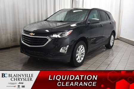 2018 Chevrolet Equinox LS * CAMERA RECUL * BLUETOOTH * SIEGES CHAUFFANTS for Sale  - BC-P1660  - Desmeules Chrysler