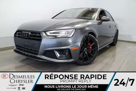 2019 Audi S4 TECNIK*AWD NAVIGATION*TOIT OUVRANT*CUIR ROUGE* for Sale  - DC-U2416  - Blainville Chrysler