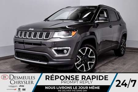 2020 Jeep Compass Limited + BANCS CHAUFF + TURBO *109$/SEM for Sale  - DC-20047  - Desmeules Chrysler