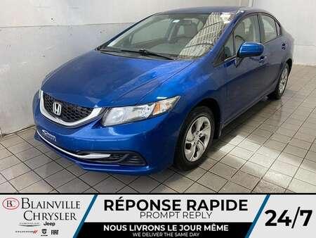 2014 Honda Civic LX * MANUEL 5 VITESSES * CRUISE CONTROL * A/C * for Sale  - BC-21174B  - Desmeules Chrysler