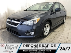 2013 Subaru Impreza Premium * SIEGES CHAUFFANTS * TOIT OUVRANT *  - BC-P2014B  - Desmeules Chrysler