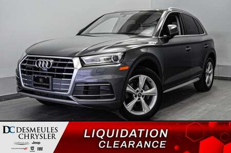 2018 Audi Q5 CUIR * NAVIGATION * SIEGES CHAUFFANTS * for Sale  - DC-S2165  - Desmeules Chrysler