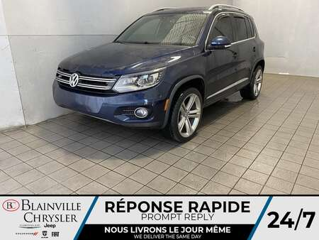 2016 Volkswagen Tiguan * R LINE * TOIT PANO * INTAKE/CAT BACK CTS TURBO * for Sale  - BC-21272B  - Desmeules Chrysler