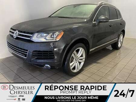 2013 Volkswagen Touareg GPS * CAM RECUL * SIEGES CHAUFFANT * TOIT PANO * for Sale  - BC-S1935B  - Blainville Chrysler