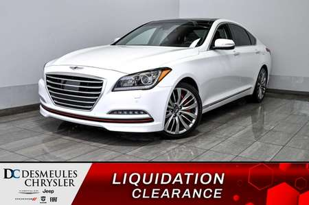 2015 Hyundai GENESIS 5.0 + bancs chauff + bluetooth + toit ouv + cam for Sale  - DC-D1907  - Desmeules Chrysler