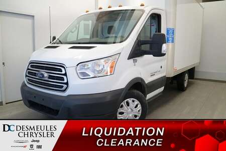 2018 Ford Transit Cutaway T-250 3.2L DIESEL* CAMERA DE RECUL * AIR CLIMATISE for Sale  - DC-S2517  - Blainville Chrysler
