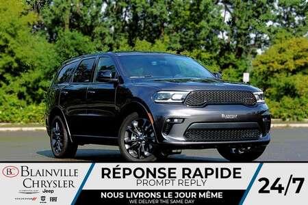 2021 Dodge Durango SXT AWD * TOIT OUVRANT * Ens. REMORCAGE (6200LBS) for Sale  - BC-21423  - Desmeules Chrysler