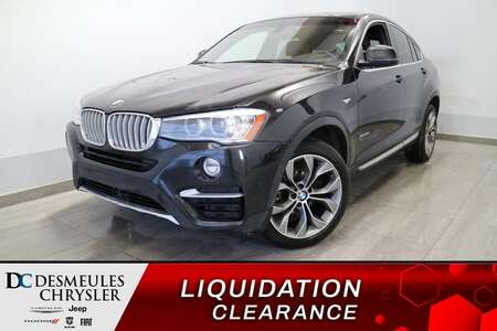 2015 BMW X4 xDrive35i AWD * TOIT OUVRANT * CUIR BRUN * A/C * for Sale  - DC-S2571  - Blainville Chrysler