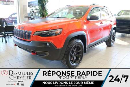 2021 Jeep Cherokee Trailhawk 4X4 * NAVIGATION * TOIT OUVRANT * CUIR * for Sale  - DC-21536  - Desmeules Chrysler
