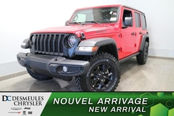 2021 Jeep Wrangler Unlimited Willys 4X4 * UCONNECT 7 PO *CAMERA RECUL  - DC-21488  - Blainville Chrysler