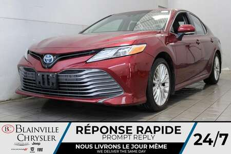 2018 Toyota Camry HYBRID XLE * CUIR * GPS * CAM. RECUL * BLUETOOTH * for Sale  - BC-A2393  - Desmeules Chrysler