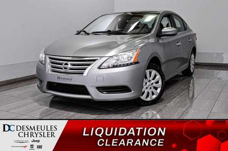 2014 Nissan Sentra 1.8 S + bluetooth + a/c for Sale  - DC-D1928  - Desmeules Chrysler