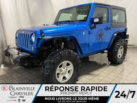 2016 Jeep Wrangler 4X4 * AUTOMATIQUE * CRUISE for Sale  - BC-M1855A  - Blainville Chrysler