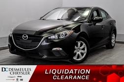2016 Mazda Mazda3 GX * A/C * CAMERA RECUL * BLUETOOTH * CRUISE *  - DC-20458C  - Desmeules Chrysler
