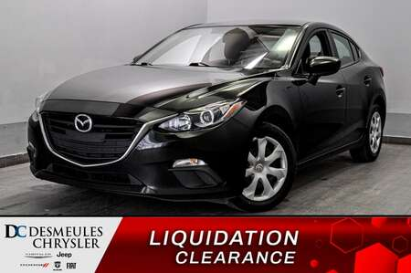 2016 Mazda Mazda3 GX * A/C * CAMERA RECUL * BLUETOOTH * CRUISE * for Sale  - DC-20458C  - Blainville Chrysler