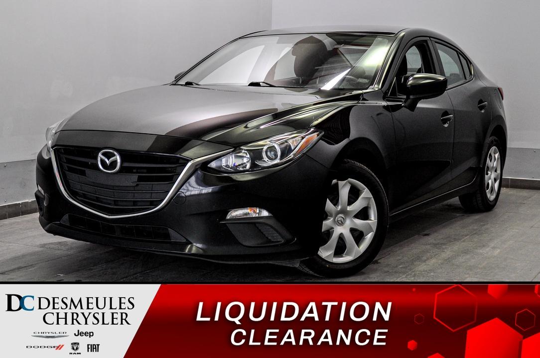 2016 Mazda Mazda3  - Blainville Chrysler
