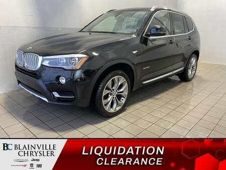 2016 BMW X3 xDrive28i AWD * GPS * CAM RECUL * TOIT PANO * for Sale  - BC-P2031  - Blainville Chrysler