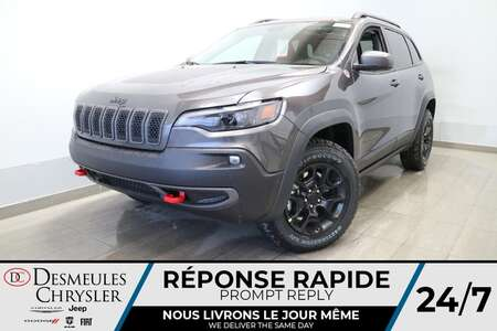 2021 Jeep Cherokee Trailhawk 4X4 * UCONNECT 8.4 PO * NAVIGATION * for Sale  - DC-21571  - Desmeules Chrysler