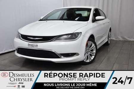 2016 Chrysler 200 NAV * Sièges & Volant Chauff. * Enter-N-Go for Sale  - DC-DE61946  - Blainville Chrysler