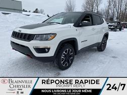 2021 Jeep Compass Trailhawk * APPLE CARPLAY * TOIT PANO * CAM RECUL  - BC-21024  - Blainville Chrysler