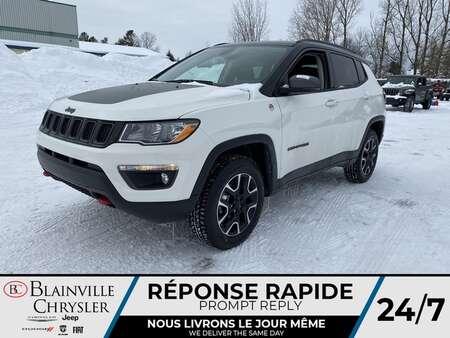2021 Jeep Compass Trailhawk * Int. CUIR & TISSU SPORT * TOIT for Sale  - BC-21024  - Desmeules Chrysler