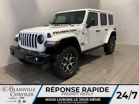 2021 Jeep Wrangler Rubicon 2L TURBO *  DEMO * CUIR * NAVIGATION  * for Sale  - BC-21002  - Desmeules Chrysler