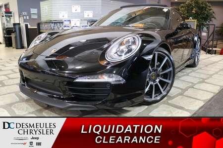 2016 Porsche 911 Carrera Black Edition * TOIT OUVRANT * NAVIGATION for Sale  - DC-N0033A  - Blainville Chrysler