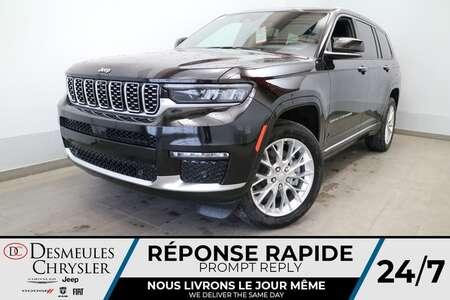 2021 Jeep Grand Cherokee L Summit 4X4 * NAVIGATION * TOIT OUVRANT * UCONNECT for Sale  - DC-J21057  - Desmeules Chrysler