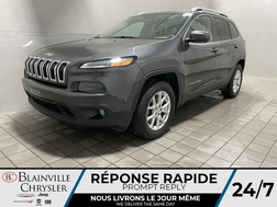 2016 Jeep Cherokee 4WD * GPS * CAM RECUL * SIEGES/VOLANT CHAUFFANTS  - BC-21312A  - Desmeules Chrysler