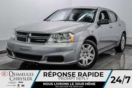 2014 Dodge Avenger SE * A/C * CRUISE * AUTOMATIQUE for Sale  - DC-S2261  - Blainville Chrysler