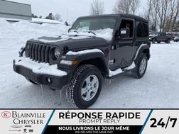 2021 Jeep Wrangler APPLECARPLAY * CAM RECUL * SIEGES/VOLANT CHAUFFANT  - BC-21275  - Blainville Chrysler