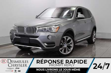 2016 BMW X3 xDrive35i * GPS * SIEGES CHAUFFANTS * BLUETOOTH * for Sale  - DC-S2187  - Blainville Chrysler