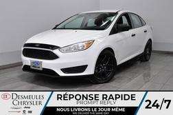 2015 Ford Focus S + manuel + bluetooth + a/c + cam recul  - DC-D1960A  - Desmeules Chrysler