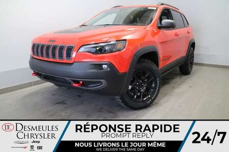 2021 Jeep Cherokee Trailhawk 4X4 * NAVIGATION * UCONNECT 8.4 PO * for Sale  - DC-21509  - Desmeules Chrysler